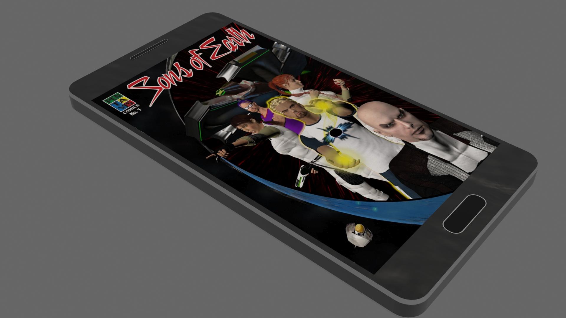 Smartphone Comic Cover