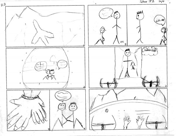 Storyboard intro to Solinox #1