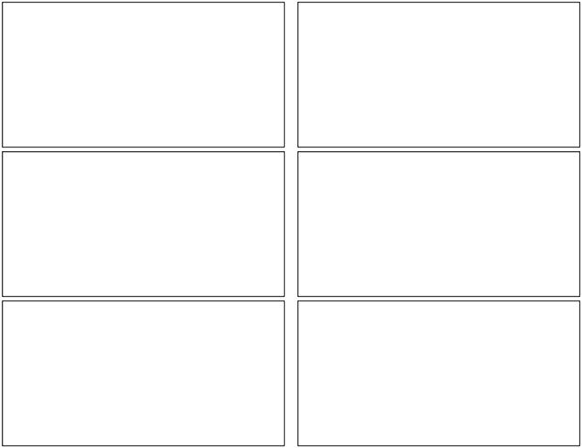Pentavis Comics storyboard template