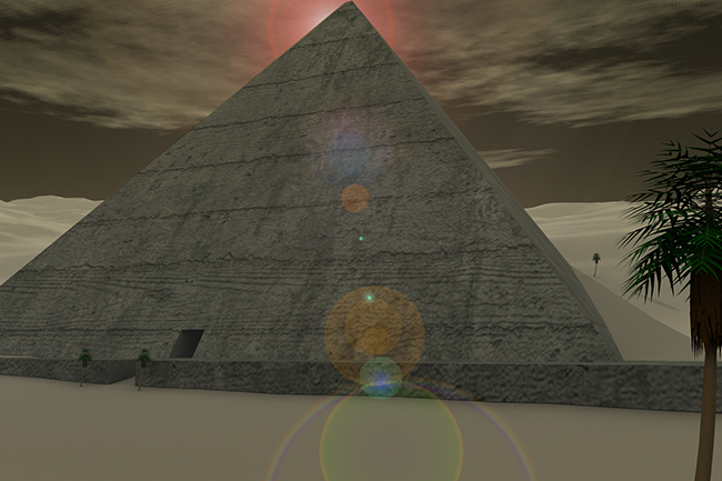 ancient pyramid concept for Force RPG from Pentavis